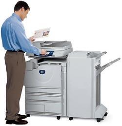 Получение копии документа в условиях офиса